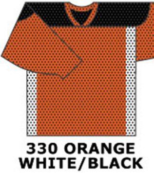H688-Orange/ White/ Black