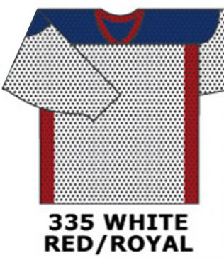 H688-White/ Red / Royal