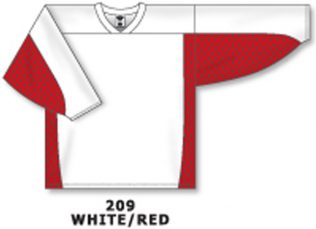 Athletic Knit Hockey Jersey H7100-White/Red