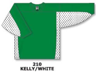 Athletic Knit Hockey Jersey H7100-Kelly/White