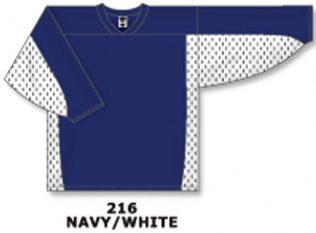 Athletic Knit Hockey Jersey H7100-Navy/White