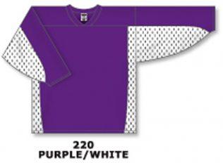 Athletic Knit Hockey Jersey H7100-Purple/White