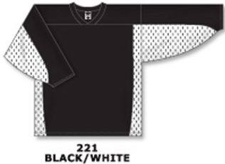 Athletic Knit Hockey Jersey H7100-Black/White