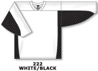 Athletic Knit Hockey Jersey H7100-White/Black