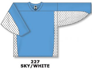 Athletic Knit Hockey Jersey H7100-Sky/White