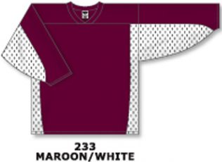 Athletic Knit Hockey Jersey H7100-Maroon/White