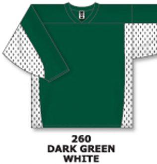 Athletic Knit Hockey Jersey H7100-Dark Green/White