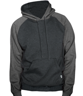 King Athletics Raglan hooded fleece