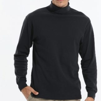 King Athletics long sleeve turtleneck, interlock