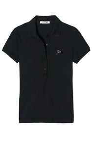 LACOSTE WOMEN'S SLIM FIT STRETCH POLO