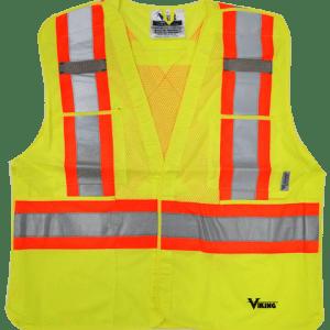 Viking® 5pt. Tear Away Safety Vest