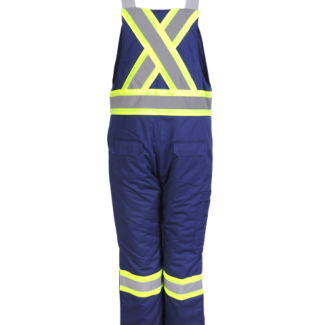 Viking Insulated Overalls Hi VIZ Navy
