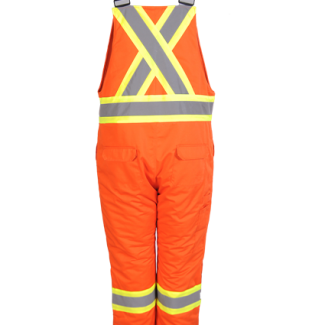 Viking Insulated Overalls Hi VIZ Orange