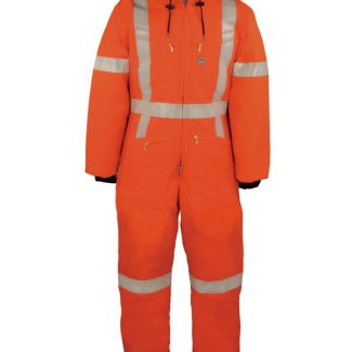 DELUXE COVERALL WITH REFLECTIVE MATERIAL
