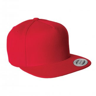 YUPOONG FIVE-PANEL WOOL BLEND SNAPBACK