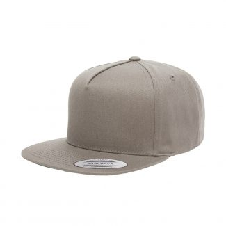 YUPOONG FIVE-PANEL FLAT BILL