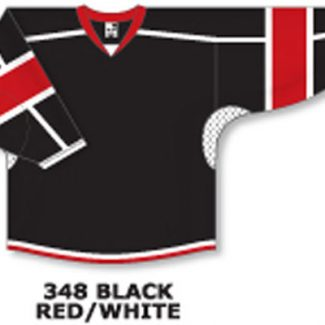Athletic Knit Hockey Jersey H7000-Black/Red/White