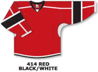 Athletic Knit Hockey Jersey H7000-Red/Black/White