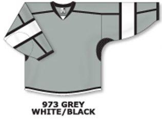 Athletic Knit Hockey Jersey H7000-Grey/White/Black