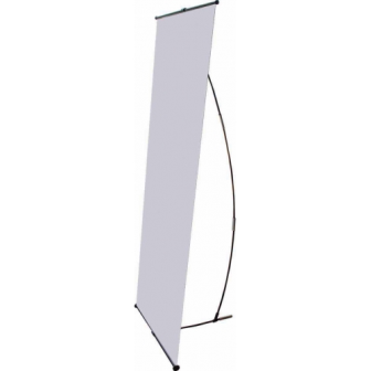 L-Stand 35.5 x 85 inches