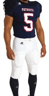 Russell ADULT STRETCH MESH FOOTBALL GAME JERSEY