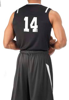 Russell Basketball MEN'S ATHLETIC CUT GAME JERSEY