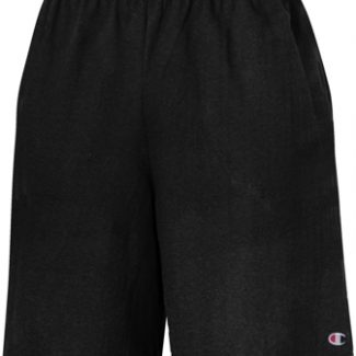 CHAMPION Cotton Jersey Short w/ Pockets – 9″