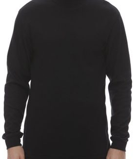 King Athletics Long sleeve mockneck, Interlock