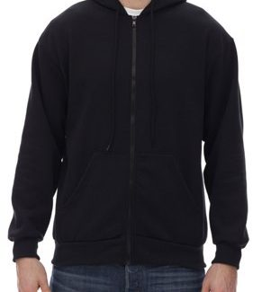 KING ATHLETICS FULL ZIP HOODED SWEAT