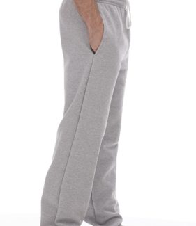 KING ATHLETICS OPEN BOTTOM POCKETED SWEATPANTS