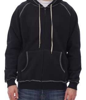 KING ATHLETICS EXTRA HEAVY FULL ZIP HOODED JACKET