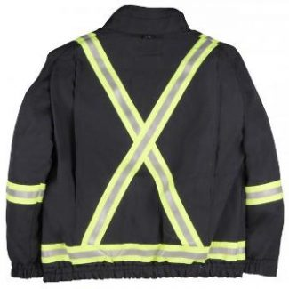 BIG BILL Dupont™ Nomex®IIIA UNLINED JACKET ZIP IN / ZIP OUT WITH REFLECTIVE MATERIAL