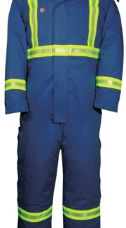 BIG BILL Dupont™ Nomex®IIIA COVERALL INSULATED WITH REFLECTIVE MATERIAL