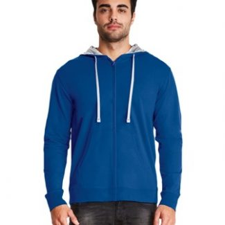 Next Level Unisex Adult French Terry Zip Hoody