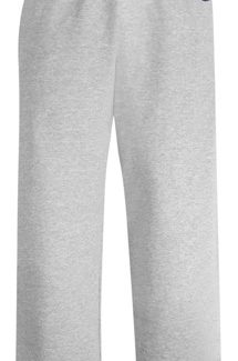 CHAMPION YOUTH DOUBLE DRY ECO® FLEECE OPEN BOTTOM PANT WITH POCKETS