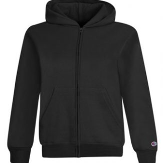 CHAMPION YOUTH DOUBLE DRY ECO® FLEECE FULL ZIP HOOD