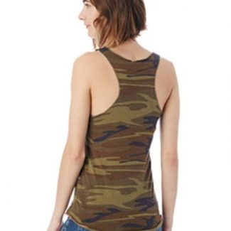Alternative Ladies' Meegs Printed Racerback Eco-Jersey™ Tank